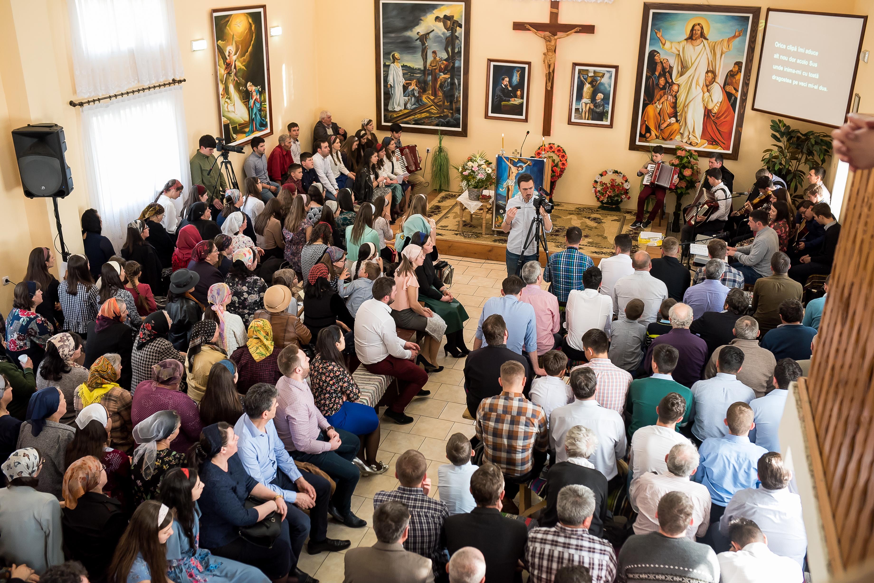 Adunare de mulțumire a Oastei Domnului - Cajvana